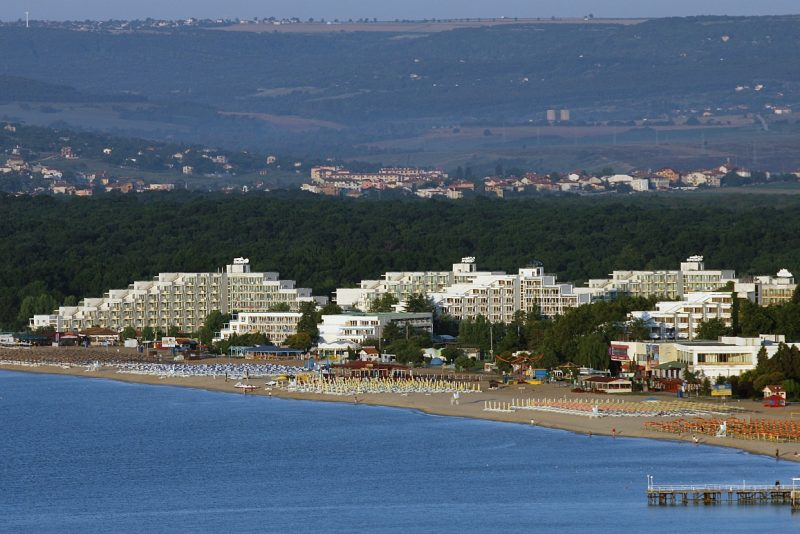 курорт Албена