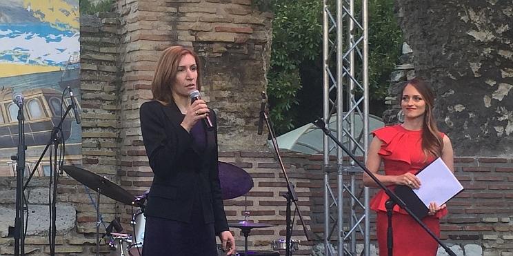 министърът на туризма Ангелкова на откриване на летен сезон 2017 във Варна
