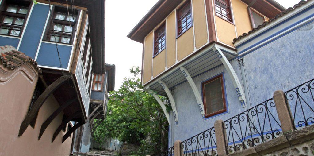 из стария град Пловдив
