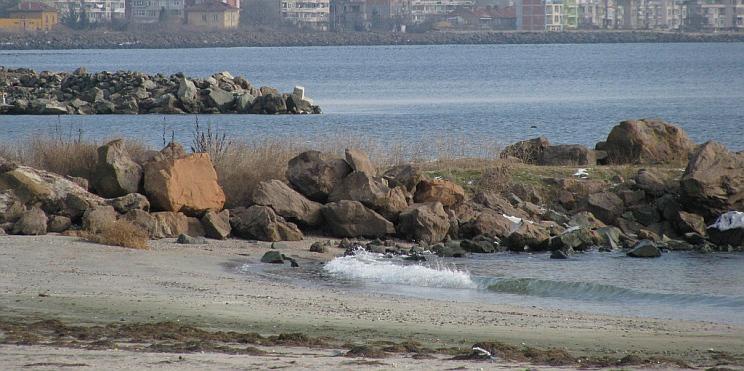 край брега на Поморие