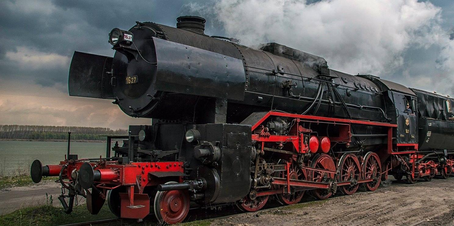 ретро локомотив