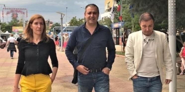 Министър Ангелкова на проверка в Слънчев бряг