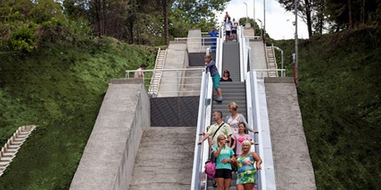 ескалатор в Албена