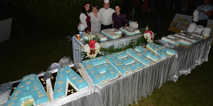 торта за 48 рожден ден на курорт Албена