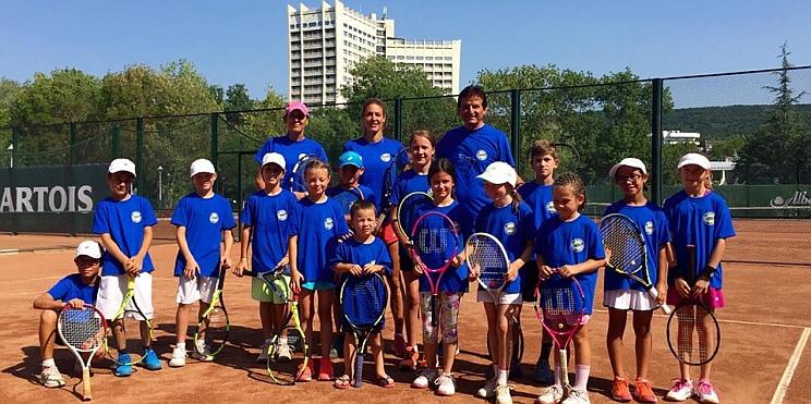 камп на Драйзам тенис академия в Албена