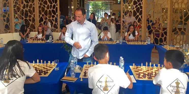 българо-американския шахматен лагер в Албена