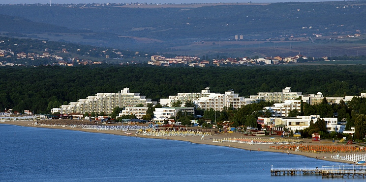 курортен комплекс Албена