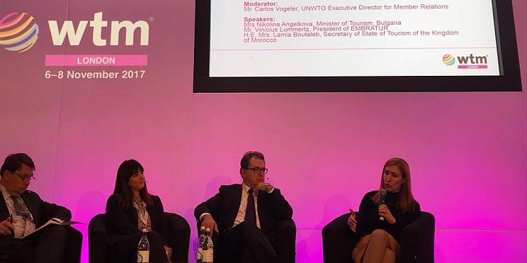 Ангелкова на форум в WTM 2017