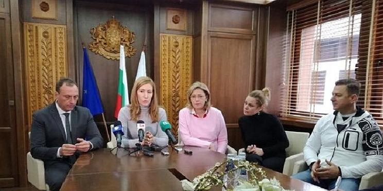 Ангелкова и кмет на Банско