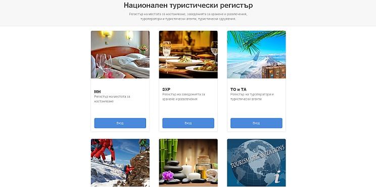 Национален туристически регистър