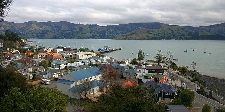 Акароа, Нова Зеландия