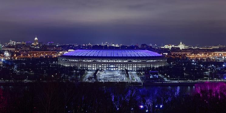 стадион Лужники в Москва