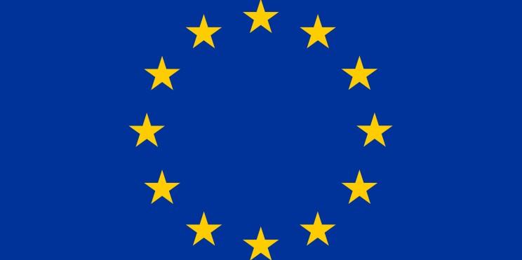 флаг на Европа