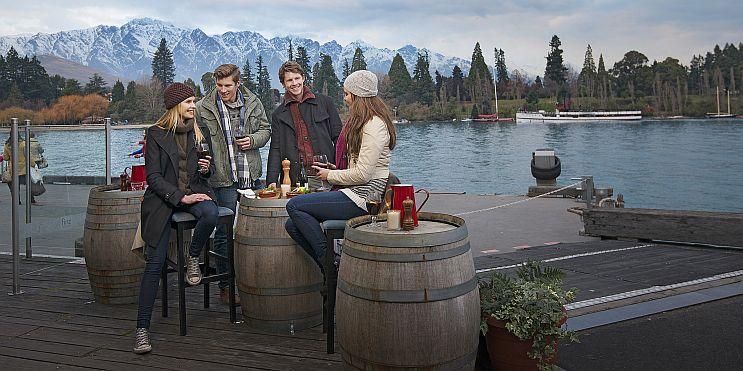 зимни туристи в Нова Зеландия