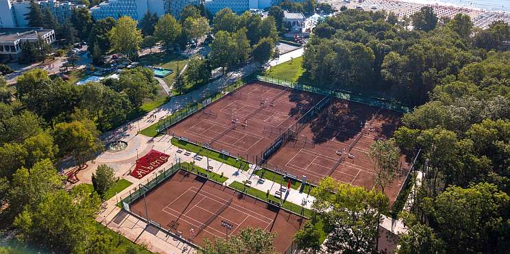 тенис кортове в Албена