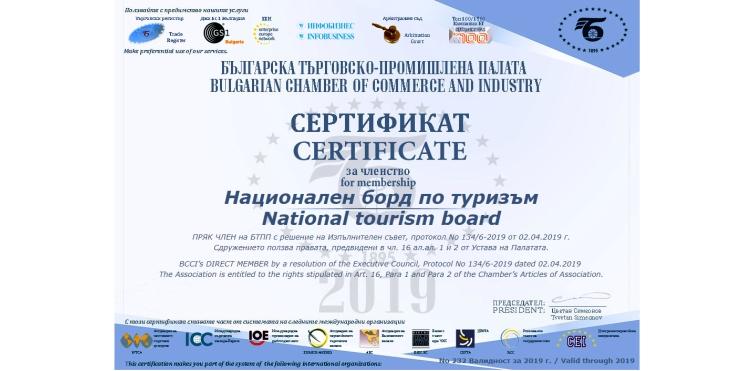 сертификат БТПП