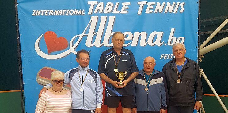 тенис на маса в Албена