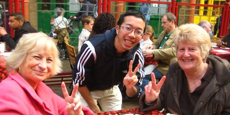 китаец в Англия