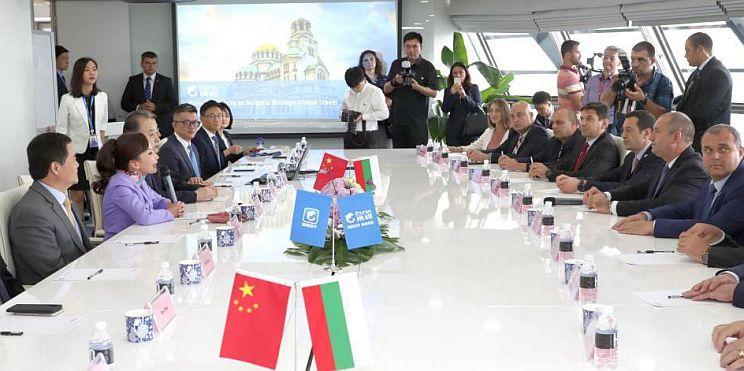 президент Радев в Китай