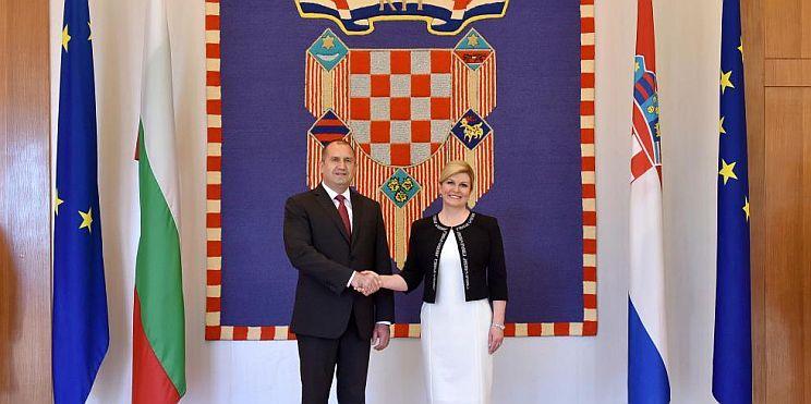 президент Радев в Хърватия