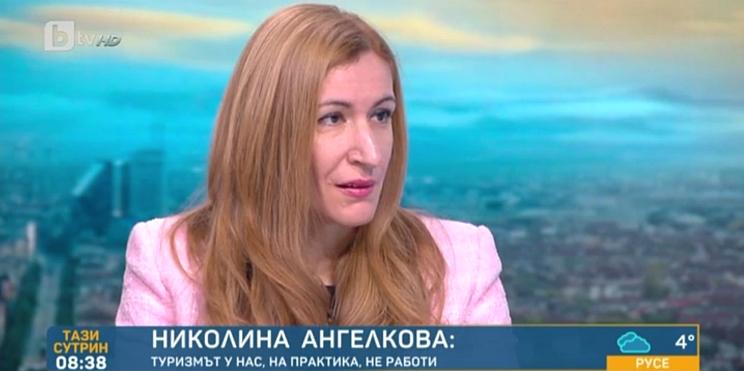 министър Ангелкова в студиото на бТВ