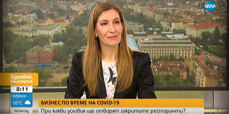 министър Ангелкова в ефира на Нова телевизия