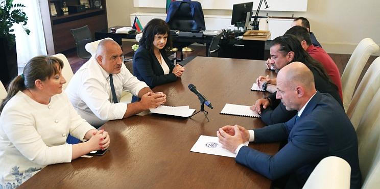 премиерът Борисов в работна среща