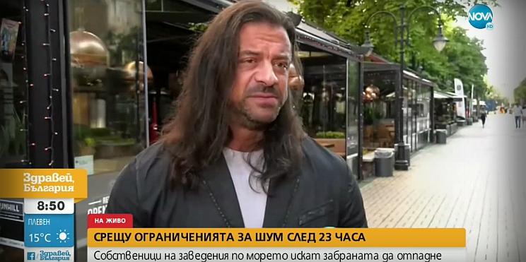 Ричард Алибегов в ефира на Нова телевизия