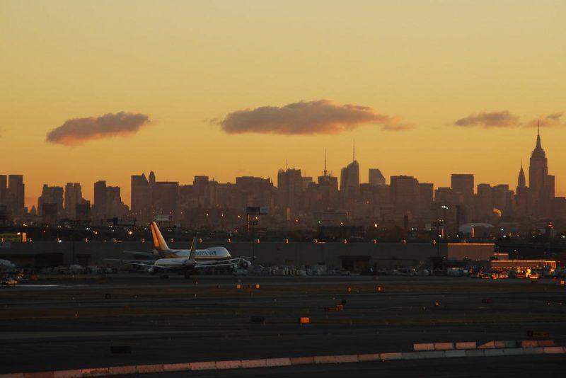 летище в Ню Йорк, САЩ